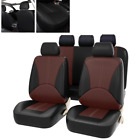Car Breathable Seat Cover PU Leather Full Surround Fit For Interior Accessories