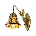 Tiffany Style Wall Sconce Vintage Stained Glass Wall Lighting Lamp Fixture