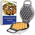 Hong Kong Style Bubble Egg Waffle Maker AC 120V 60Hz 760W Electric Cooker NEW