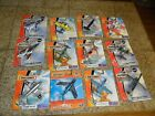 12 LOT MATCHBOX SKYBUSTERS AIRPLANE HELICOPTER AIR MEDIC AMBULANCE NAVY PATROL+