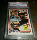 Eddie Murray Cards, Rookie Cards and Autographed Memorabilia Guide 41