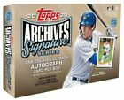 2020 Topps Archives Signature Series Active Player Hobby Box. Juan Soto