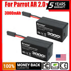 2x 111V 3000mAh Lithium ion Battery PACK for Parrot AR Drone 20 Li Polymer