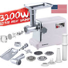3200W Heavy Duty Electric Meat Grinder Home Appliances Sausage Stuffer Mincer