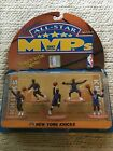 GALOOB'S ALL-STAR MVPS 1997 EDITION NEW YORK KNICKS POSEABLE ACTION FIGURES