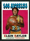 Elgin Baylor Rookie Card and Vintage Card Guide 28