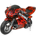 Mini Gas Power Pocket Bike Motorcycle 40CC 4 Stroke Ride on Toys by EPA Approved