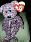 TY Beanie Baby 2000 USA Bear Tag Errors Collectible Rare Limited Edition Error!