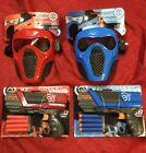 Red  Blue Rival Face Tactical  2 Dart Gun Toy For Nerf  10 Team Bullets