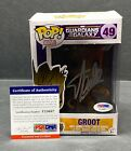 Stan Lee Signed Guardians of The Galaxy :Groot Funko POP #49 PSA Y23687