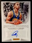 2017 Panini NBA Finals Private Signings Basketball Cards 5