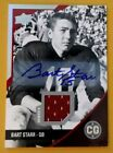 BART STARR-2014 UD Conference Greats (#7 10) JERSEY AUTO AUTOGRAPH-MINT?