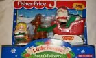 Fisher Price Little People Santas Delivery 1999 Brand New Sealed