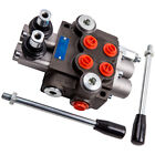 Hydraulic Directional Control Valve Tractor Loader +Joystick 2 Spool 11 GPM new