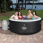 Bestway 54124 SaluSpa Portable 4 Person Round Inflatable Hot Tub Spa with Pump