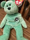 Retired Ty Beanie Baby Kicks the Soccer Bear Push Toy-RARE with TAG errors!