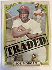 Joe Morgan Cards, Rookie Cards and Autographed Memorabilia Guide 14