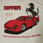 Vintage Ferrari F40 by Soffe Heavy Cottons Large USA H40