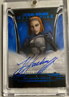 2020 Topps Star Wars Masterwork Trading Cards - Pedro Pascal Autographs 24
