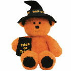 TY Beanie Baby - WITCHY the Halloween Bear (7 inch) - MWMTs Stuffed Animal Toy