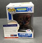 Stan Lee Signed Marvel Stan Lee Funko POP #01 PSA X79935