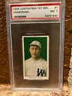 1910 T209 Contentnea First Series Baseball Cards 41