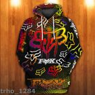 NEW Limited Edison colorful FX RACING LOVER 3D Hoodie UNISEX S 5XL