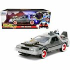 Jada Back To The Future III Light Up Delorean Time Machine 124 Diecast Car