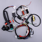 CDI Wire Harness Loom Stator Wiring Kit Fit for 50cc 125cc ATV Electric Quads