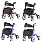 Nova Express Rolling Mobility Walker Rollator 4 COLOR CHOICE NEW