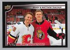2020 Upper Deck Sibling Sensations Family Weekend Hockey Cards - Checklist Added 11