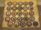 2009-10 Topps Puck Attax NHL Hockey Card Game Lot Of 25 Cards Lidstrom GOLD NASH