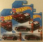 Hot Wheels Gamestop Exclusive 2020 Ford Mustang Shelby GT500 Red lot of 3 RARE