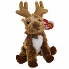 TY Beanie Baby - ROOFTOP the Reindeer (7 inch) - MWMTs Stuffed Animal Toy