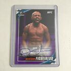 2019 Topps UFC DEIVESON FIGUEIREDO 25 PURPLE 1ST AUTO ROOKIE CARD Knockout Box