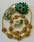 Vintage Estate Costume Jewelry Lot Must See