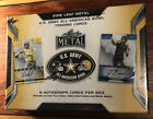 2016 Leaf Metal Army All American Bowl Factory Sealed Box 8 Autos NEW