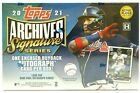 2021 Topps Archives Signature Series Active Player Factory Sealed Hobby Box