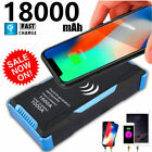 1500amp Peak With 18000mah 12v Lcd 2 Usb Wireless Charger Car Jump Starter