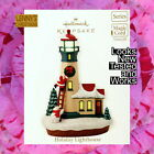 Hallmark Ornament, 2012  Holiday Lighthouse, Looks New