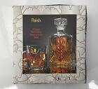 Paksh 7 Piece Italian Crafted Glass Decanter  Whisky Glasses Set