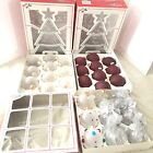 Vintage Holly Glass Christmas Ornaments 29 In Total 2 10pack 1 9pack