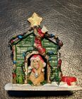 Lemax Village Decorated Light Doghouse 02808 2010 Christmas Collection