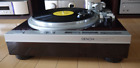 Denon DP 47F Turntable Wood Direct Drive AC100V Japan One Owner Excellent++