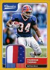 Thurman Thomas Cards, Rookie Cards and Autographed Memorabilia Guide 11