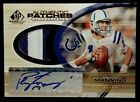 PEYTON MANNING-2004 SP Game Used (#12 25) 2-COLOR PATCH JERSEY AUTO AUTOGRAPH
