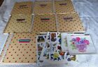 Huge Lot 75 Vinyl Cling Sheets Valentines Day Halloween Easter Spring Christmas