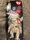 BEANIE BABY TY Glory The bear RONALD MCDONALD USA *RARE* NEW IN BOX 1997 Retired