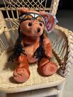 """Retired 2004 Ty """"Little Feather"""" Beanie Baby, MWMT, 13G Tush, Covered 12G Swing"""