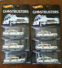 HOT WHEELS PREMIUM GHOSTBUSTERS ECTO 1 WITH REAL RIDERS Lot Of 6